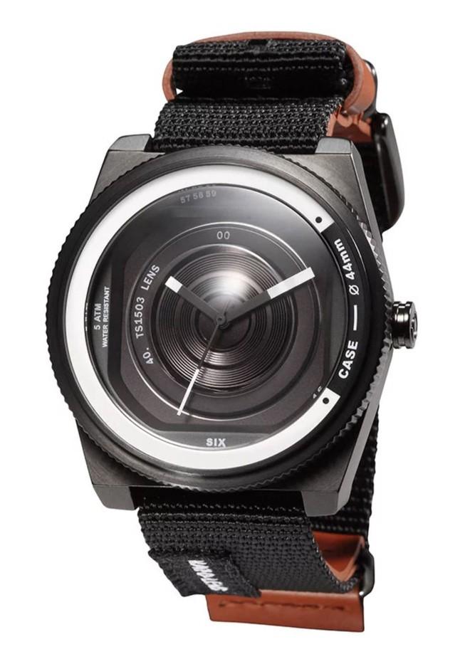 Cùng chiêm ngưỡng chiếc đồng hồ độc đáo lấy ý tưởng từ ống kính máy ảnh - Ảnh 3.