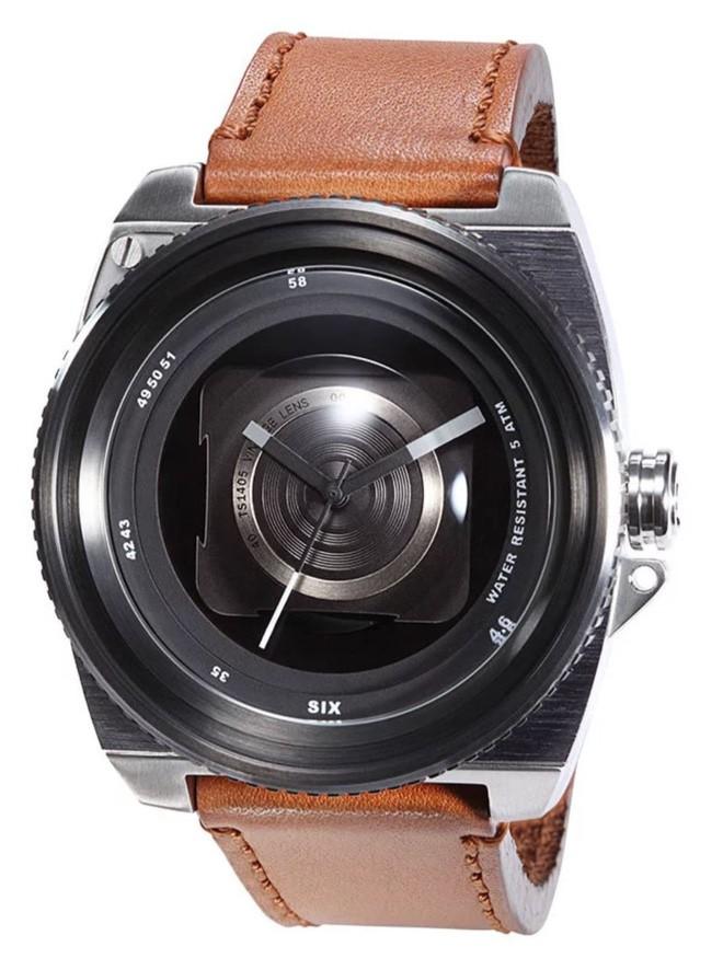 Cùng chiêm ngưỡng chiếc đồng hồ độc đáo lấy ý tưởng từ ống kính máy ảnh - Ảnh 4.