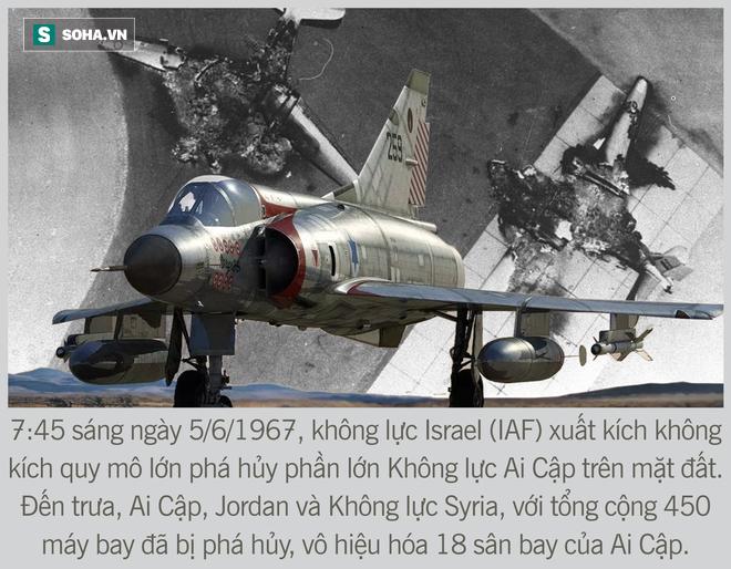 [Photo Story] Toàn cảnh cuộc chiến 6 ngày - Không quân Israel đập nát liên minh Ả Rập hùng mạnh - Ảnh 4.
