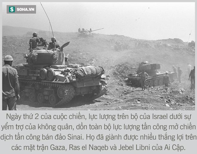 [Photo Story] Toàn cảnh cuộc chiến 6 ngày - Không quân Israel đập nát liên minh Ả Rập hùng mạnh - Ảnh 6.