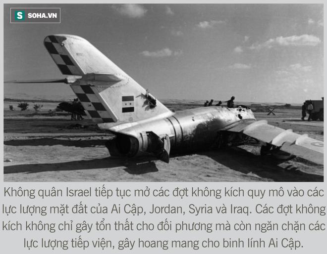 [Photo Story] Toàn cảnh cuộc chiến 6 ngày - Không quân Israel đập nát liên minh Ả Rập hùng mạnh - Ảnh 7.