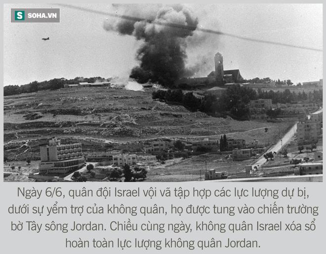 [Photo Story] Toàn cảnh cuộc chiến 6 ngày - Không quân Israel đập nát liên minh Ả Rập hùng mạnh - Ảnh 12.