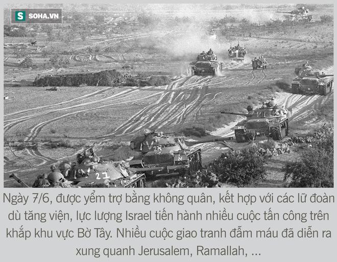 [Photo Story] Toàn cảnh cuộc chiến 6 ngày - Không quân Israel đập nát liên minh Ả Rập hùng mạnh - Ảnh 13.