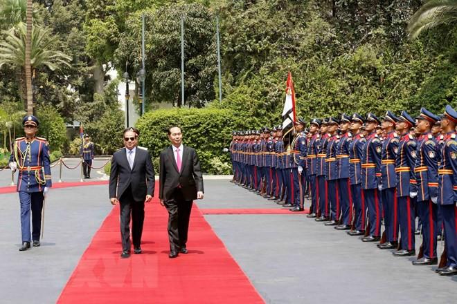 Chuyến thăm nước ngoài cuối cùng của Chủ tịch nước Trần Đại Quang - Ảnh 12.