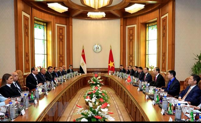 Chuyến thăm nước ngoài cuối cùng của Chủ tịch nước Trần Đại Quang - Ảnh 15.