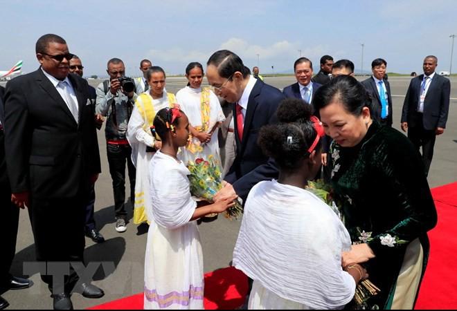 Chuyến thăm nước ngoài cuối cùng của Chủ tịch nước Trần Đại Quang - Ảnh 4.
