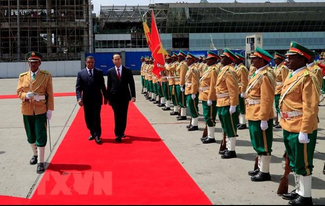 Chuyến thăm nước ngoài cuối cùng của Chủ tịch nước Trần Đại Quang - Ảnh 6.