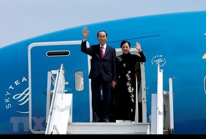 Chuyến thăm nước ngoài cuối cùng của Chủ tịch nước Trần Đại Quang - Ảnh 7.