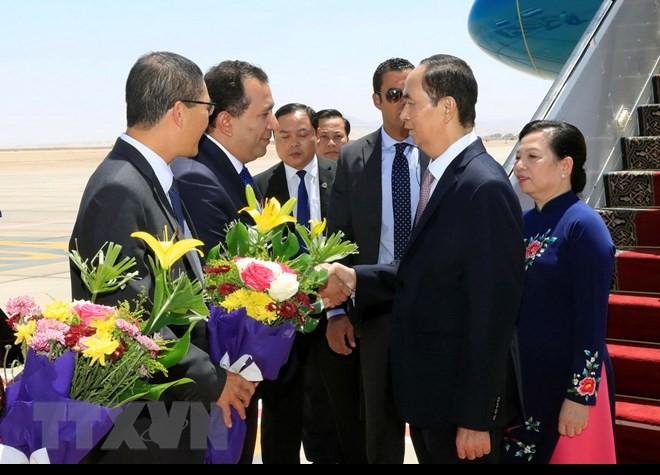 Chuyến thăm nước ngoài cuối cùng của Chủ tịch nước Trần Đại Quang - Ảnh 8.