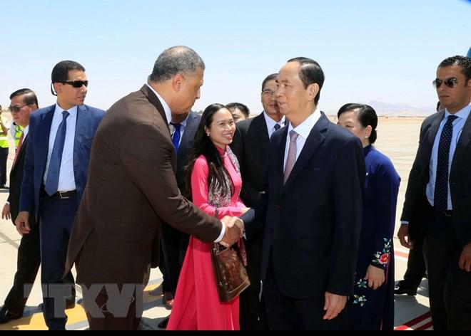 Chuyến thăm nước ngoài cuối cùng của Chủ tịch nước Trần Đại Quang - Ảnh 9.