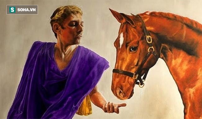 Sự thật về các vị hoàng đế, trong đó tiết lộ về bạo chúa Caligula sủng ái ngựa - Ảnh 2.