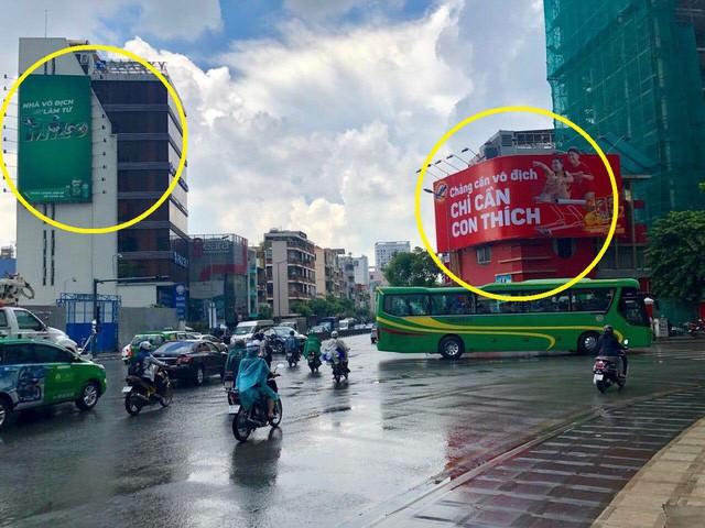 Góc tranh đua: Biển quảng cáo của hai hãng đồ uống dìm hàng nhau giữa ngã tư các con phố khiến nhiều người thích thú - Ảnh 1.