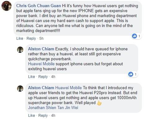 Màn dìm hàng pin iPhone theo cách không thể hay hơn của Huawei - Ảnh 3.