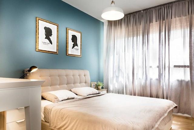 Căn hộ 2 phòng ngủ của gia đình trẻ hiện đại - Ảnh 9.