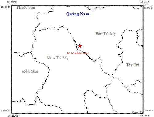 Vừa xảy ra trận động đất thứ 74 gần thủy điện Sông Tranh 2 - Ảnh 1.