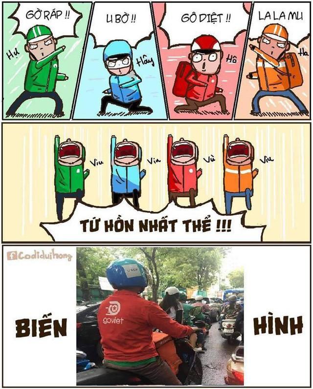 Đây là tử huyệt của Go-Viet, Grab, FastGo và kẻ chiến thắng tương lai rất có thể là taxi truyền thống! - Ảnh 7.