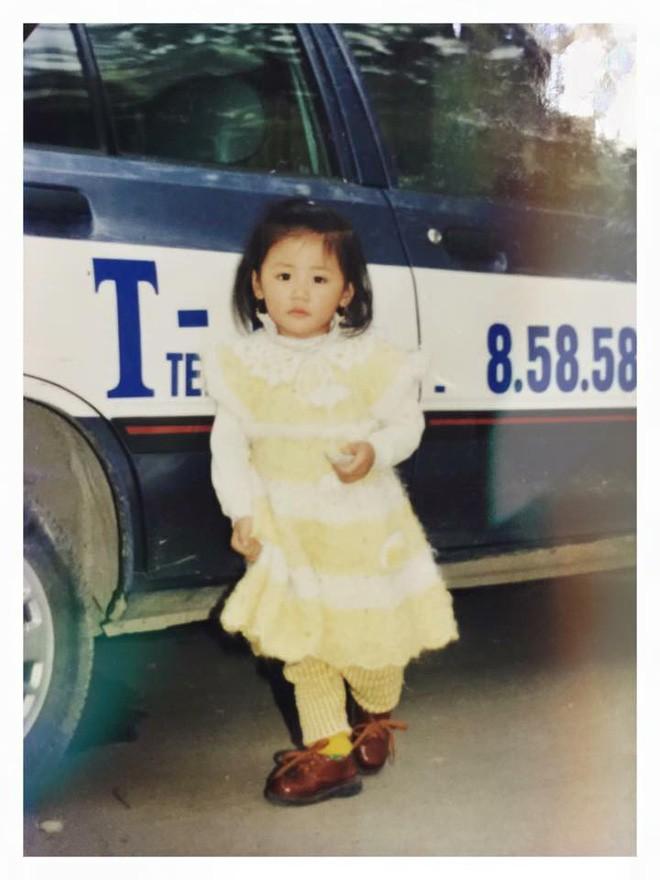 """Ngắm ảnh thời thơ ấu của sao Việt: Người đáng yêu, người gây bất ngờ với ngoại hình """"hai lúa"""" - Ảnh 7."""