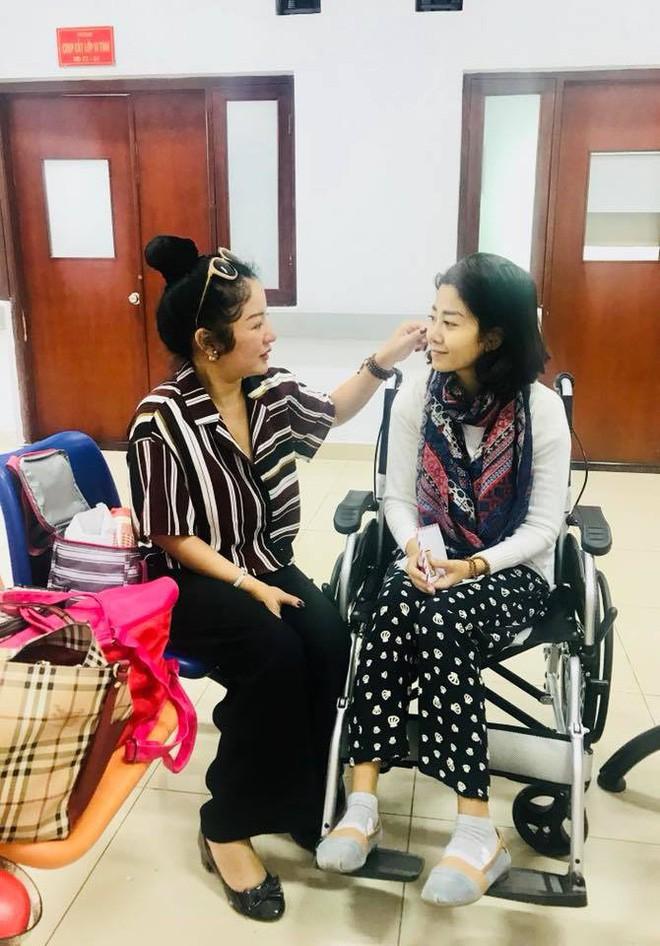 Tình hình sức khoẻ mới nhất của nghệ sĩ Lê Bình và Mai Phương sau thời gian điều trị ngoại trú - Ảnh 2.