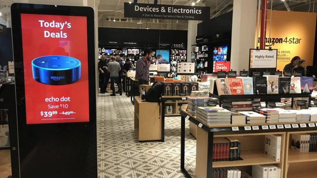 Cận cảnh cửa hiệu phân phối lẻ truyền thống Amazon vừa mở ở New York - Ảnh 9.