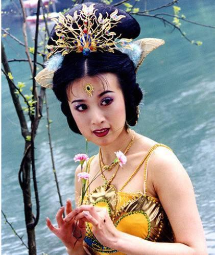 Công chúa của Tây Du Ký: Đi khách đại gia, ngoại tình với Trương Quốc Lập bị bắt tại trận? - Ảnh 1.