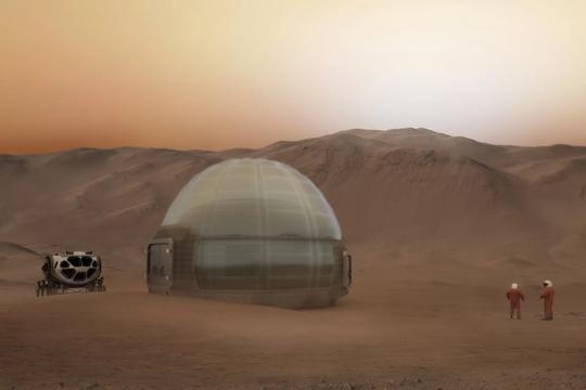 Cận cảnh ngôi nhà Sao Hỏa của NASA - Ảnh 1.