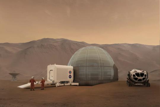 Cận cảnh ngôi nhà Sao Hỏa của NASA - Ảnh 7.