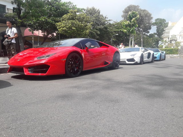 Cường Đô La cộng loạt đại gia Việt khoe dàn siêu xe trăm tỷ dịp cuối tuần - Ảnh 13.