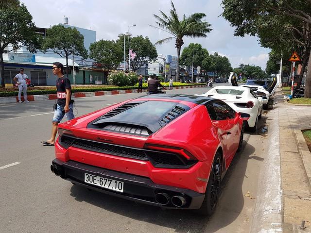 Cường Đô La cộng loạt đại gia Việt khoe dàn siêu xe trăm tỷ dịp cuối tuần - Ảnh 14.