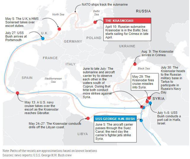 Sau 3 tháng bám đuôi Kilo tới tận Syria, NATO vẽ viễn cảnh đáng sợ về uy lực của tàu ngầm Nga - Ảnh 3.
