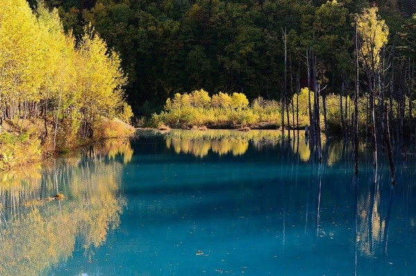Bí ẩn về những hồ nước đổi màu liên tục trong năm - Ảnh 3.