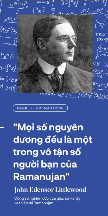 Thiên tài toán học Srinivasa Ramanujan, người đàn ông biết đếm tới vô tận - Ảnh 13.