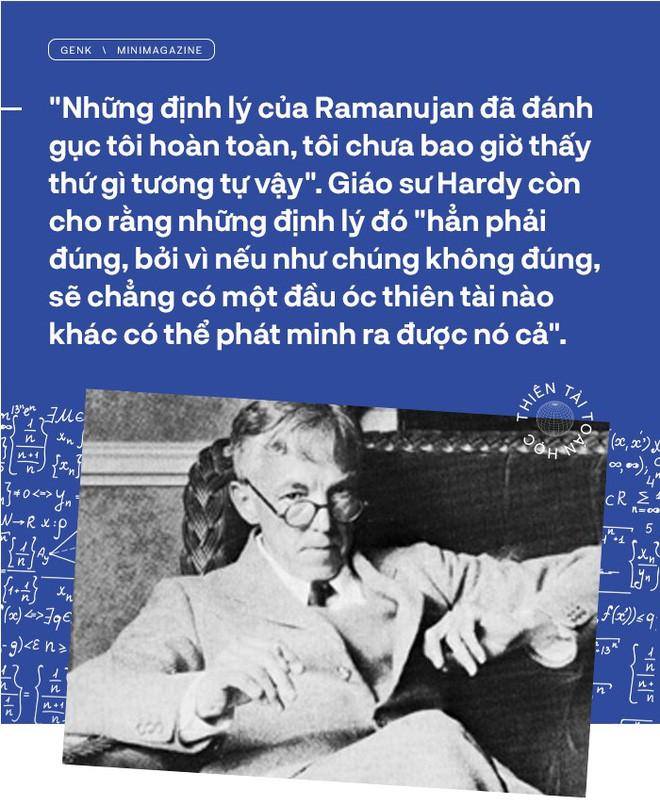 Thiên tài toán học Srinivasa Ramanujan, người đàn ông biết đếm tới vô tận - Ảnh 6.