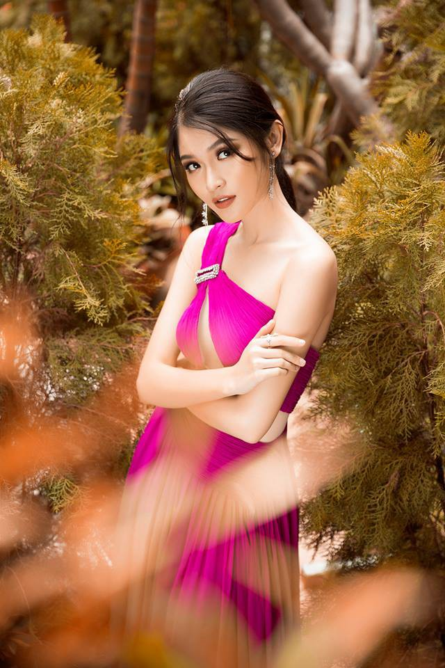 Á hậu Thùy Dung: Đi thi Hoa hậu Quốc tế, bật khóc vì bị kỳ thị - Ảnh 4.
