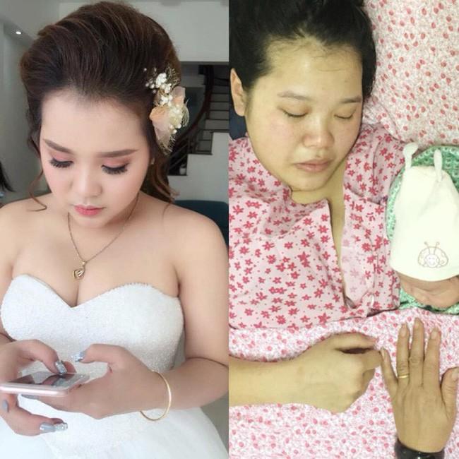 Cùng 1 góc nghiêng chụp ngày cưới và trước khi đi đẻ, mẹ bầu khiến các em gái thảng thốt: Thôi, em không lấy chồng đâu! - Ảnh 4.
