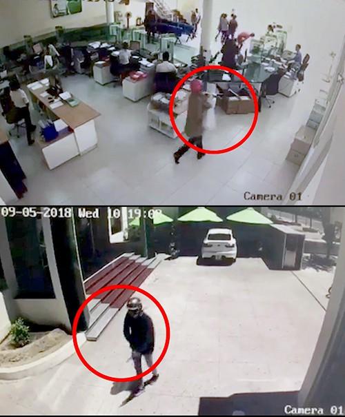 Bắt 2 nghi can dùng súng cướp ngân hàng ở Khánh Hòa - Ảnh 2.