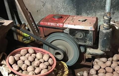 Trộn đất đỏ vào khoai tây Trung Quốc, bán giá cao gấp 3-4 lần - Ảnh 3.