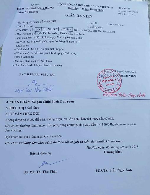Thông tin mới nhất về hoàn cảnh anh Lê Văn Gửi ở xóm Quế - Ảnh 3.