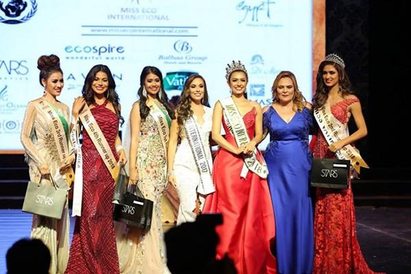 Sự thật bất ngờ về ngôi vị Á hậu Miss Eco International của Thư Dung - Ảnh 1.