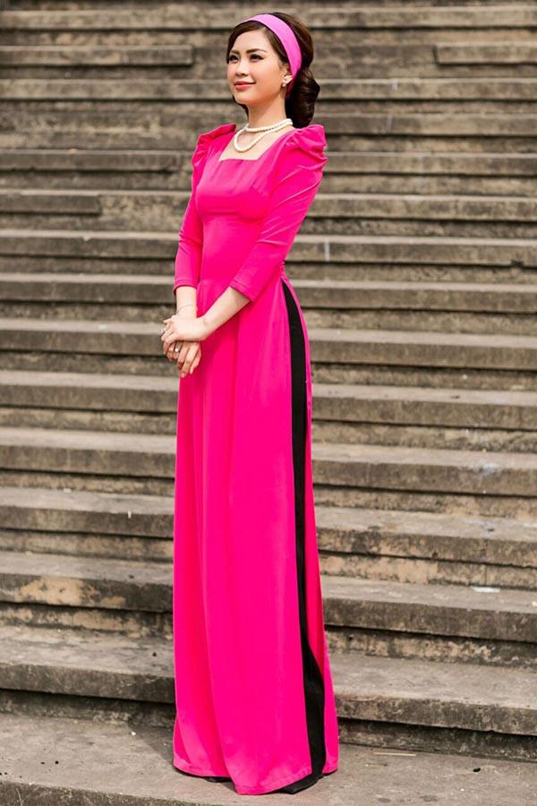 Á hậu Diễm Trang, Thanh Tú khoe sắc với áo dài cách tân - Ảnh 6.