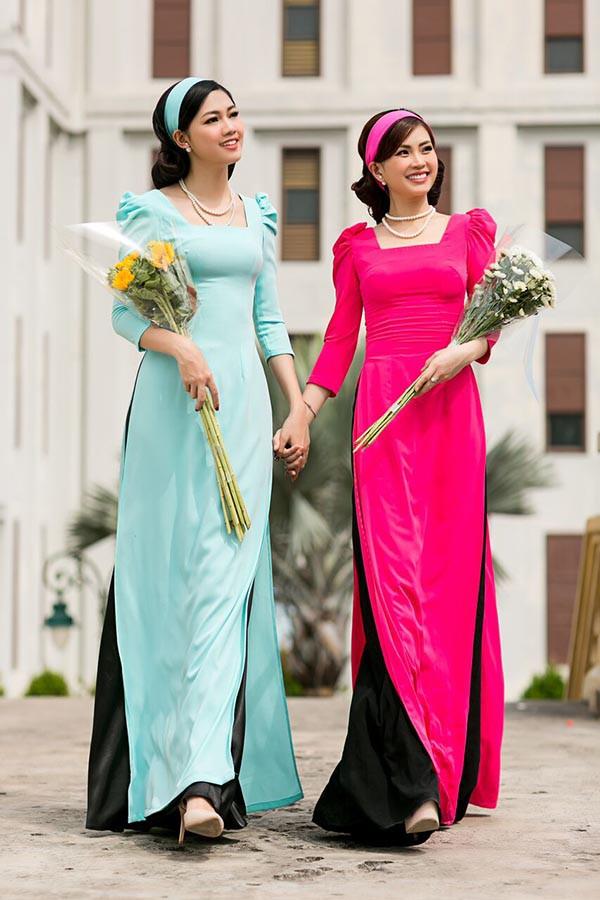 Á hậu Diễm Trang, Thanh Tú khoe sắc với áo dài cách tân - Ảnh 8.