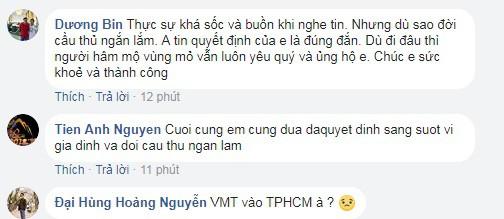 Người hâm mộ sốc khi Vũ Minh Tuấn chia tay Than Quảng Ninh - Ảnh 2.