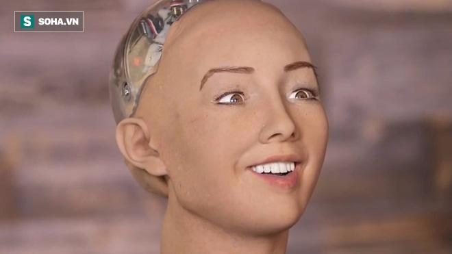 Sophia: Cô nàng robot từng tuyên bố hủy diệt con người, lần đầu nói lời yêu - Ảnh 1.