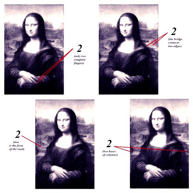 Phát hiện mật mã mới trong tác phẩm Mona Lisa của Da Vinci: Ẩn ý sau 500 năm mới hé lộ? - Ảnh 10.