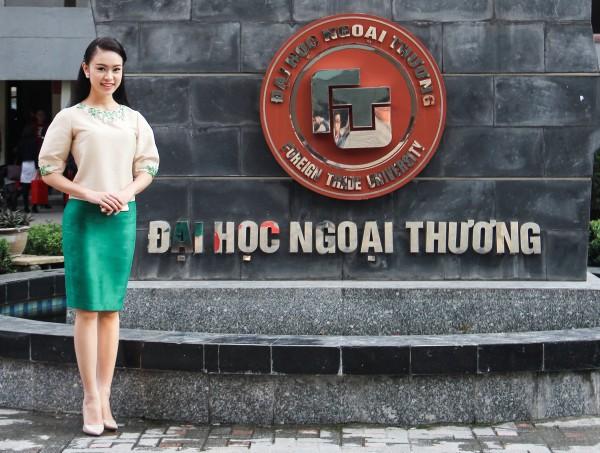 Nữ sinh Ngoại thương từng lọt top 10 HH Việt Nam: 'Phải biết nói lời từ chối khi cần' - Ảnh 2.