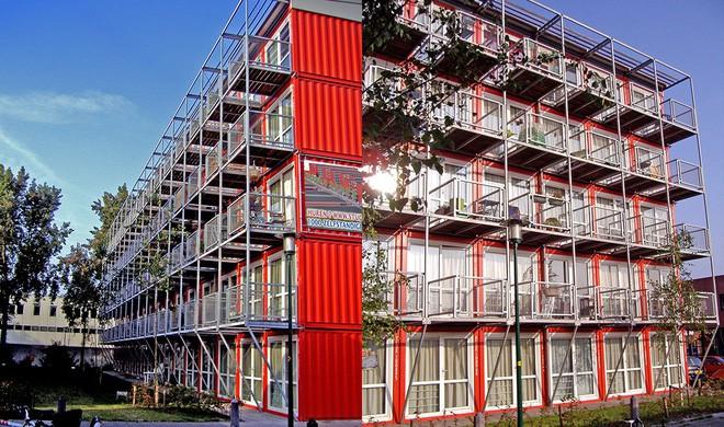 15 ngôi nhà độc đáo trên thế giới được tạo nên từ… container tái chế - Ảnh 2.