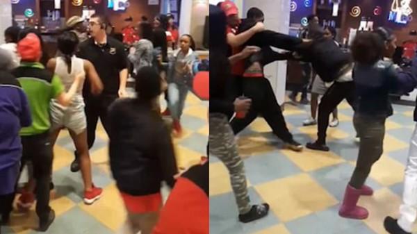 Mất một chiếc điện thoại, 20 người xông vào đánh nhau ngay giữa nhà hàng - Ảnh 1.