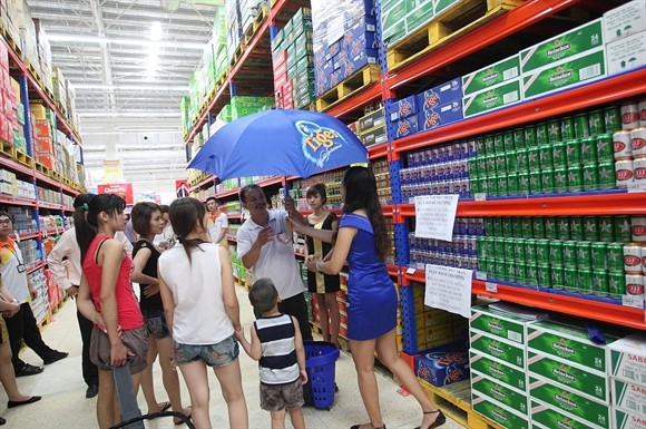 Thaibev chia lại bàn tiệc bia Việt Nam - Ảnh 1.