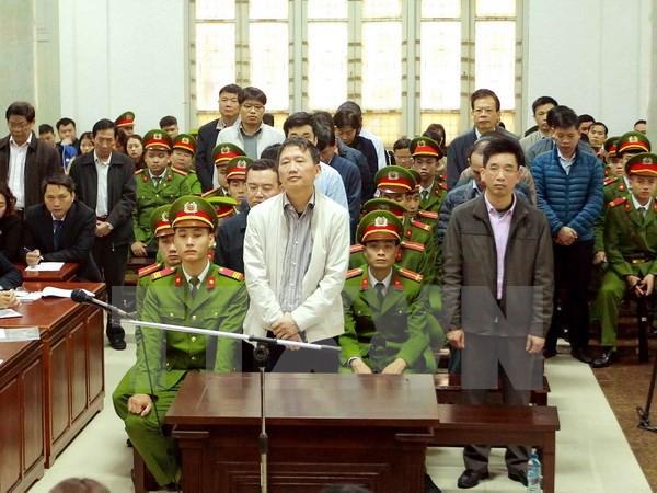 Tổng hợp mức án vụ xử ông Đinh La Thăng, nhiều bị cáo được trả tự do ngay tại tòa - Ảnh 4.