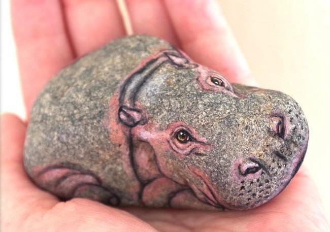 Nhặt những viên đá vứt đi, nghệ nhân điêu khắc Nhật Bản đã làm điều không ai ngờ tới - Ảnh 12.