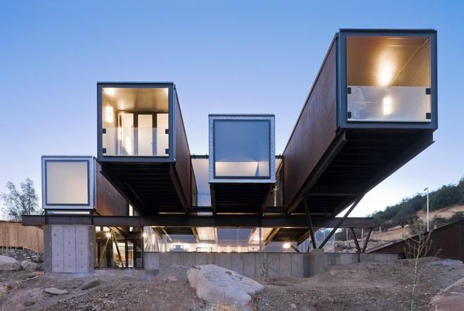 15 ngôi nhà độc đáo trên thế giới được tạo nên từ… container tái chế - Ảnh 13.